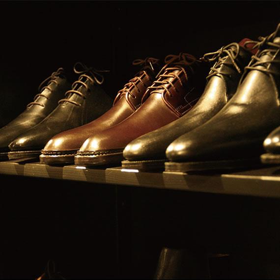 靴のサンプル